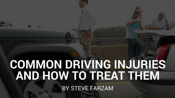Common Driving Injuries and How to Treat Them