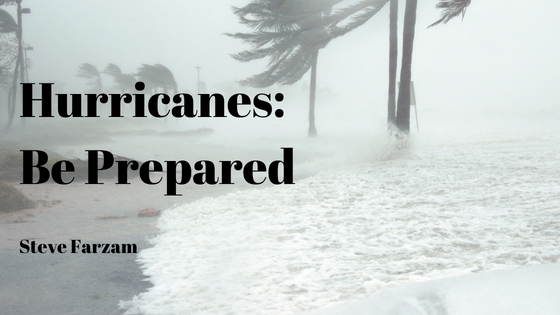 Hurricanes: Be Prepared