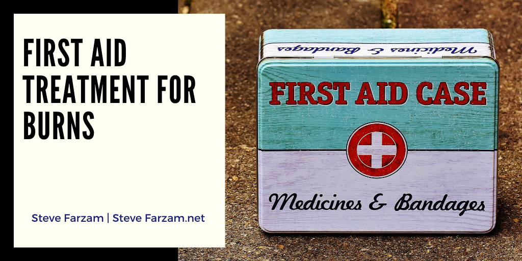 First Aid Treatment for Burns