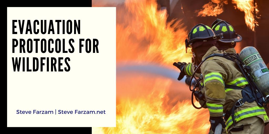 Evacuation Protocols for Wildfires